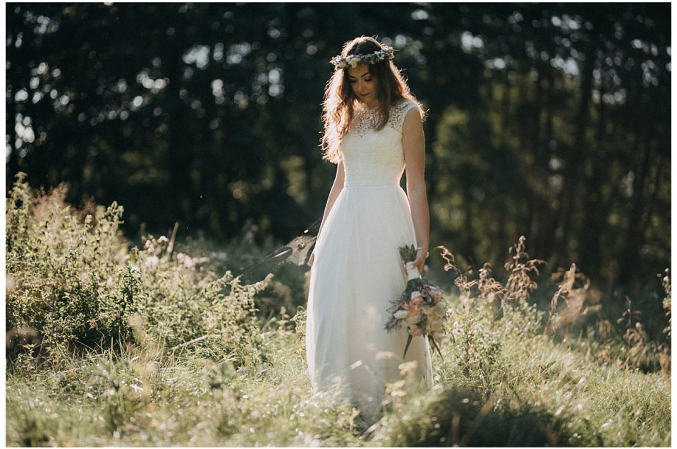 Marta – leśna sesja dla Panny Młodej