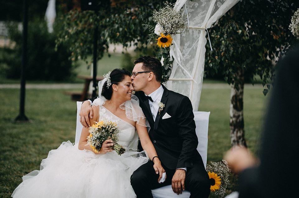 Dagmar i Robert – naturalny ślub na luzie