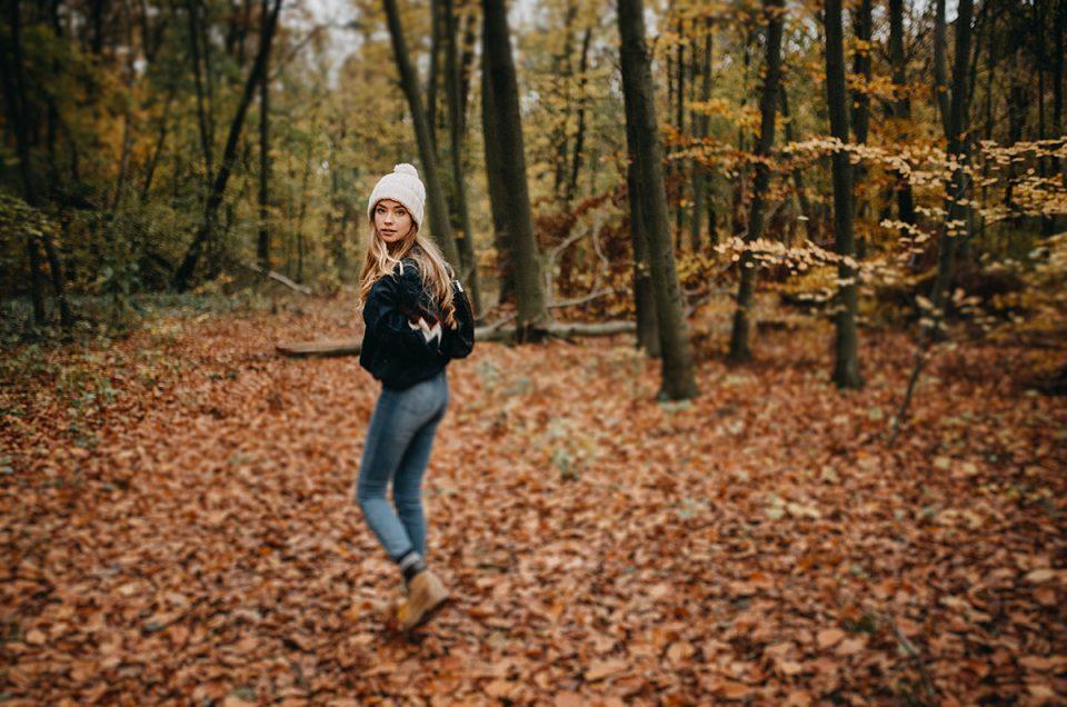 Sesja jesienna z Juliette in Wonderland